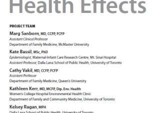 Revisión sistemática de los efectos de los plaguicidas sobre la salud