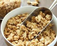 Granola con germen y avena