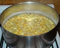 Ají de maíz frangollado (Sucre)